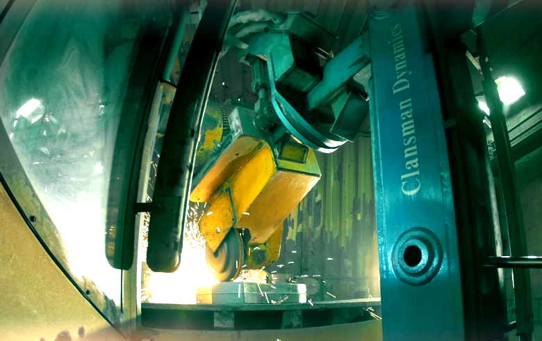 Clansman Dynamics Deburring Robot