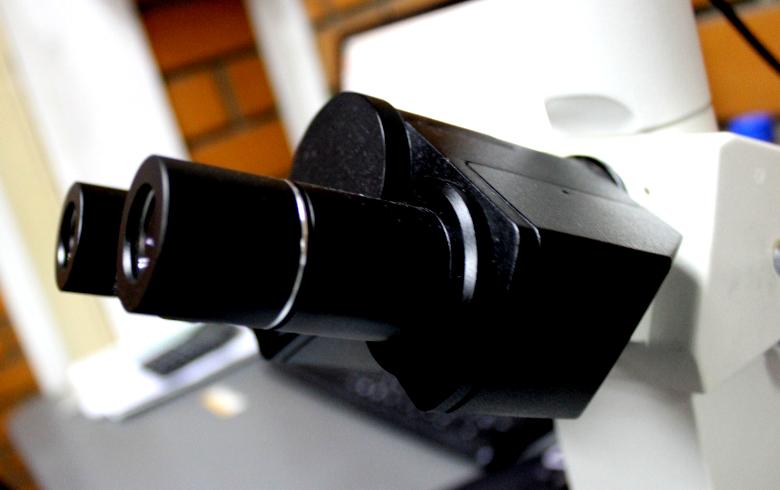 Microscópios metalográfico com câmeras digitais