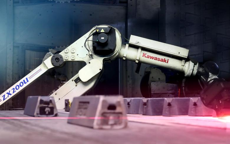 Kawasaki Deburring Robot